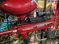 Paintball-Equipment Red and Black Carbon Fiber 4