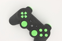 SureGrip PlayStation 3 Controller with All Green Buttons 10