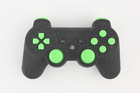 SureGrip PlayStation 3 Controller with All Green Buttons 11