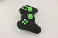 SureGrip PlayStation 3 Controller with All Green Buttons 2