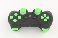 SureGrip PlayStation 3 Controller with All Green Buttons 4