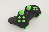 SureGrip PlayStation 3 Controller with All Green Buttons 5