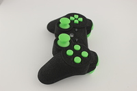 SureGrip PlayStation 3 Controller with All Green Buttons 6