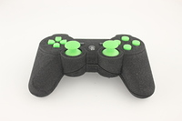 SureGrip PlayStation 3 Controller with All Green Buttons 8