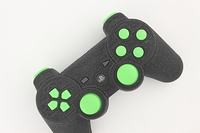 SureGrip PlayStation 3 Controller with All Green Buttons 9