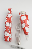 Hello Kitty Wii Remote and Nunchucks 1