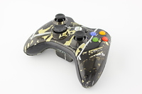 Gold Moonshine Freedom Camo Xbox 360 Controller