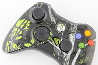 Green Moonshine Freedom Xbox 360 Controller 1
