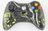Green Moonshine Freedom Xbox 360 Controller 11