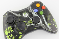 Green Moonshine Freedom Xbox 360 Controller 2