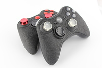SureGrip and Red Chrome Xbox 360 Controller 2