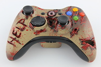 Zombiefied Xbox 360 Controller 8