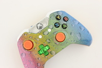 Spectrum Blue Water Drop Lit Xbox One Controller