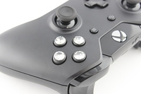 Stock Black Xbox One Controller with Diamond Buttons 4