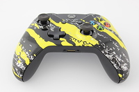 Yellow Savage Camo Xbox One Controller 10