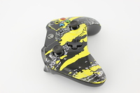 Yellow Savage Camo Xbox One Controller 4