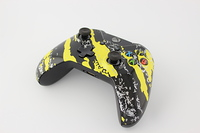 Yellow Savage Camo Xbox One Controller 9